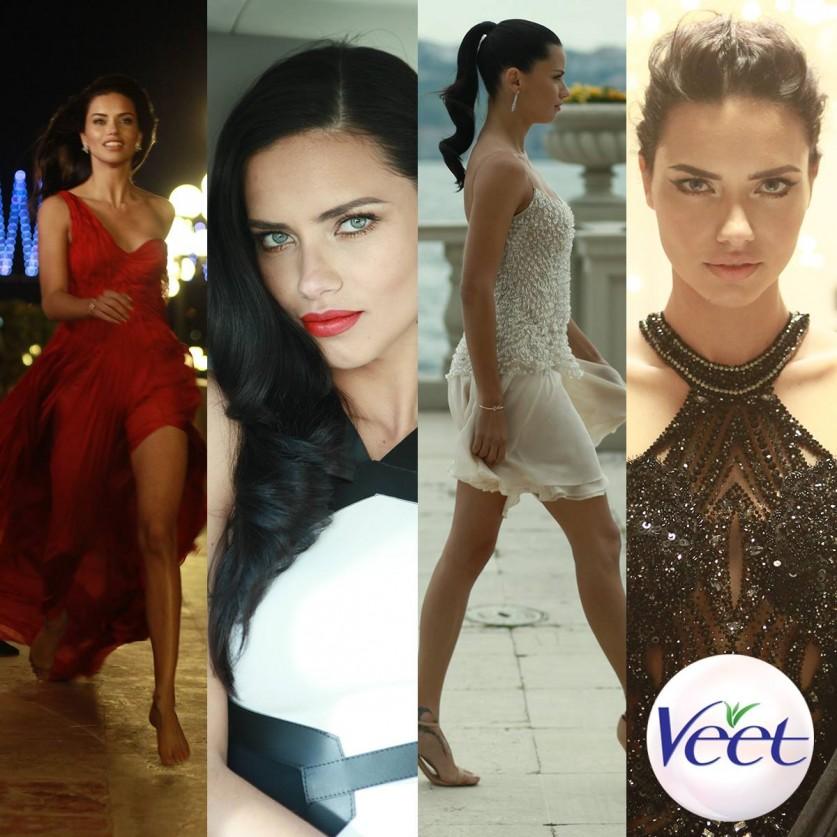 Adriana Lima Veet