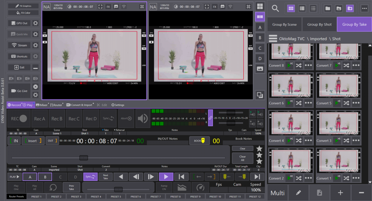 Okto.video ScreenShot